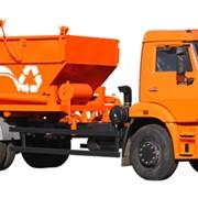 Мусоровоз контейнерный КО-440А1 (Базовое шасси КамАЗ-43253) фото