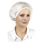 Шапочки одноразовые, халаты полипропиленовые для кондитеров фото