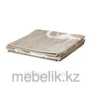 Банное полотенце бежевый, белый СУММЕЛЬН фото