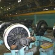 Ремонт колесных пар электропоездов, пассажирских и грузовых вагонов фото