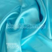 Ткань Атлас обычный светло-голубой 1620 фото