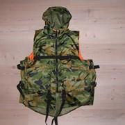Жилет страховочный с капюшоном тип М4 Solar Wear, камуфляж фото