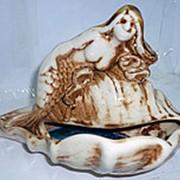 Пепельница РАКУШКА С РУСАЛКОЙ фото