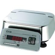 Весы пыле и влагозащитные FW500-15E 15кг/2г/5г фото