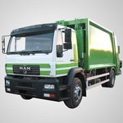 MAN CLA 16.220 4X2 BB CS03 - мусоровоз фото
