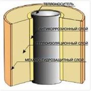 Трубы полипропиленовые с пенополимерминеральной теплоизоляцией фото