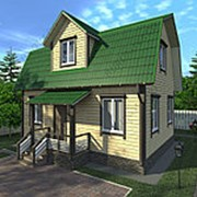 Дом из бруса Никита фото