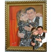 Портретная живопись. фото