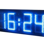 Часы электронные для помещений светодиодные фото