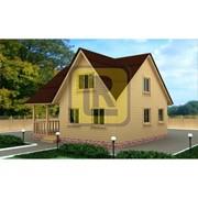 Дом из бруса Проект №19 (8х8) фото