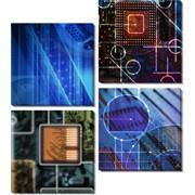 Картина модульная Скорость фото