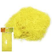 Декоративный бумажный наполнитель желтый 30г фото
