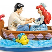 """Скульптура """"Ариэль и принц Эрик (Первый поцелуй)"""" 22х16х12см. арт.4055414 Disney фото"""