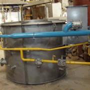 Изготовление и ремонт газовых печей с отражательной ванной для переплавки вторичного алюминия. фото