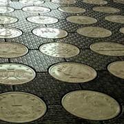 Тротуарная плитка, Бетонопаркет . фото