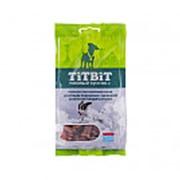 TitBit Dog Хрустящие подушечки с начинкой со вкусом говядины и сыра лакомство для собак мелких пород фото