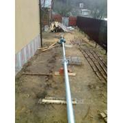 Изготовление и монтаж мачты для подключения интернета 3G/2G на даче, котедже, загородном доме фото