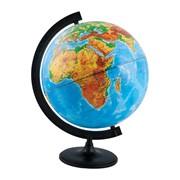 Глобус физический, 32 см, на круглой подставке (Глобусный мир) фото