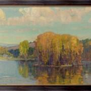 Картина Осень в Вермонте, 1943-49, Бюхр, Карл Альберт фото