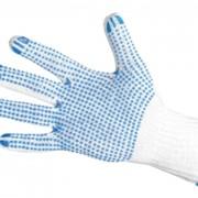 Перчатки рабочие вязаные, перчатки трикотажные фото