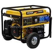 Бензиновый генератор Skiper LT8000EK фото
