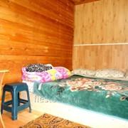 Уютные домики с номерами разного уровня комфортности фото