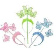 Карнавальный набор Бабочка ободок и палочка фото