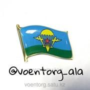 Значок флаг ВДВ, код: 702119 фото