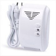 Беспроводный датчик утечки газа для GSM сигнализации, с выходом для электромагнитного клапана для отключения подачи газа фото