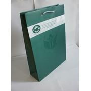 Бумажные пакеты с вашей символикой фото