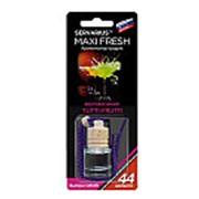 Освежитель воздуха HMF-4 MAXI FRESH (tutti-frutti) жидкостный подвесной, деревянная крышка 5мл /1/64 фото