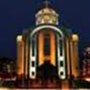 Освещение архитектурных объектов, памятников фото