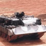 Бронированная эвауационная машина БРЭМ для эвакуации с поля боя техники, танков, САУ и выполнения землеройных и сварочных работ фото