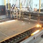 Газовая резка листового металлопроката фото