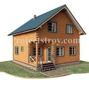 Проект дом из бруса в теплый угол фото