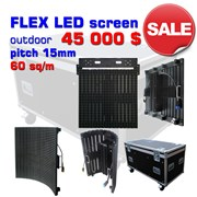 LED экран Outdoor Led Display P15 60 кв.м. фото