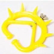 Кольцо для носа с шипами против самовыдаивания коров, пластик MI-713 фото