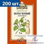 """Перец чёрный молотый """"Вкусмастер"""" 10 гр. х 200 шт. фото"""