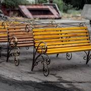 Скамейка Александрия фото