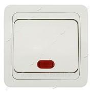 Выключатель с подсветкой Wega №270110 фото