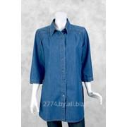 Блузка женская джинсовая фото
