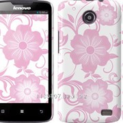 Чехол на Lenovo A820 Розовые цветы 1 3009c-68 фото