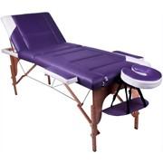 Трехсекционный массажный стол PROFI фото