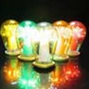 Светодиоды с различными размерами колбы (3, 5, 10 мм) и цветом свечения фото
