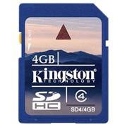 Kingston Secure Digital Card Class 4 4GB фото