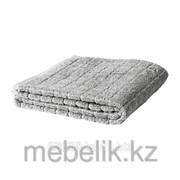 Банное полотенце серый ОФЬЕРДЕН фото