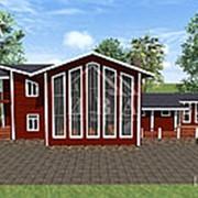 Деревянный дом «Гросс» из клееного бруса фото