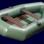 Надувная лодка ПВХ Фишер с настилом фото