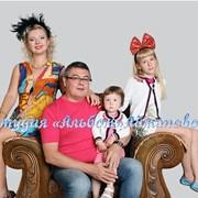 Семейная фотосессия в студии фото