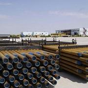 Трубы стеклопластиковые для транспортировки отработанных травильных растворов фото